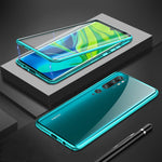 Load image into Gallery viewer, Bakeey 360º Curved Screen Front+Back Double-sided Full Body 9H Tempered Glass Metal Magnetic Adsorption Flip Protective Case Xiaomi Mi Note 10 / Xiaomi Mi Note 10 Pro / Xiaomi Mi CC9 Pro
