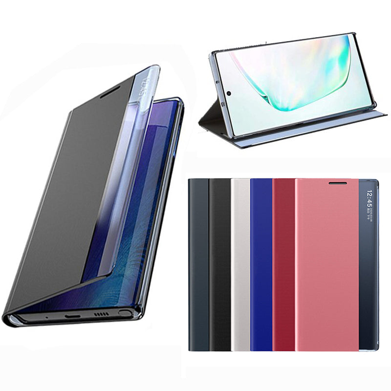 Bakeey for Xiaomi Redmi Note 9S / Redmi Note 9 Pro Case Magnetic Flip Smart Sleep Side View Window PU Leather Full Cover Shockproof Protective Case