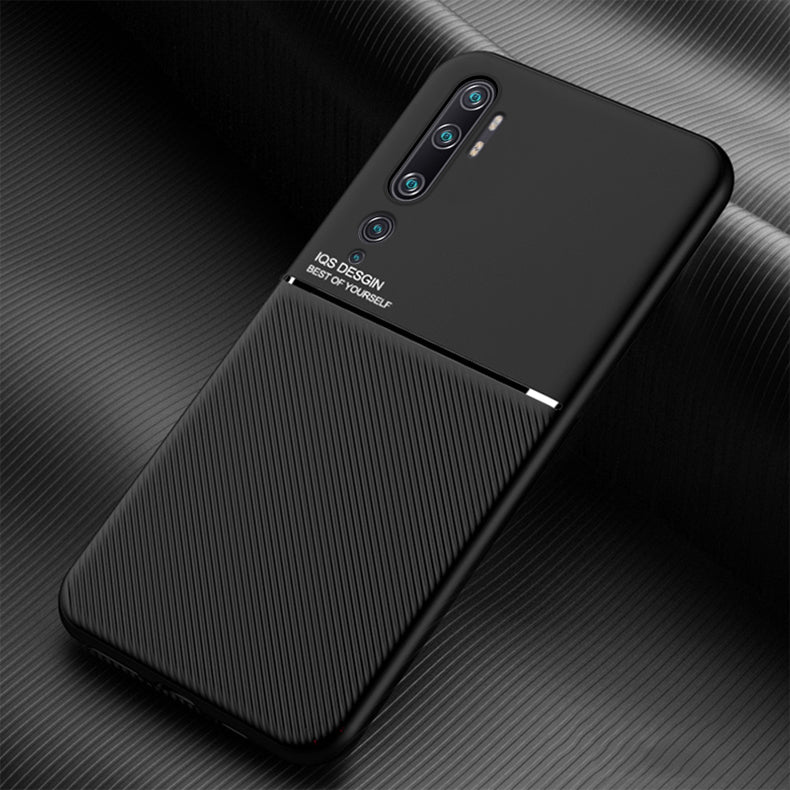 Bakeey Magnetic Non-slip Leather Texture TPU Shockproof  Protective Case for Xiaomi Mi Note 10 / Xiaomi Mi Note 10 Pro / Xiaomi Mi CC9 Pro