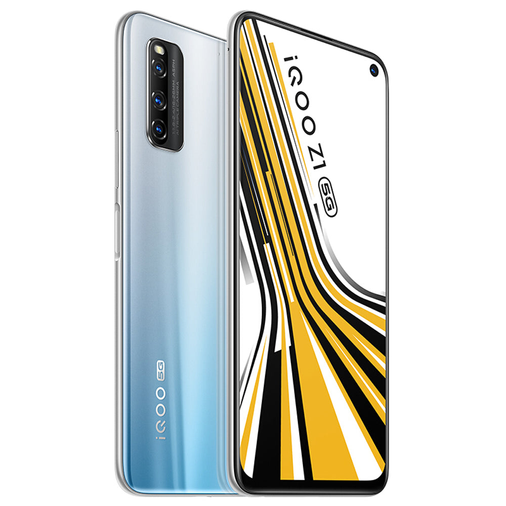 vivo iQOO Z1 5G CN Version 6.57 inch FHD+ 144Hz Refresh Rate NFC Android 10 4500mAh 48MP AI Triple Rear Camera 8GB 128GB Dimensity 1000+ Smartphone