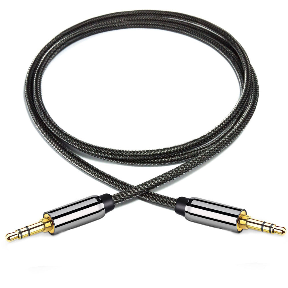 Bakeey 3.5 mm Audio Jack Aux Cable Male to Male Cable For Laptop Speaker Car MP3 Media CD Players  PC