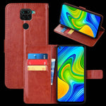 Load image into Gallery viewer, Bakeey Magnetic Flip with Multiple Card Slot Foldable Stand PU Leather Shockproof Full Cover Protective Case for Xiaomi Redmi Note 9 / Redmi 10X 4G