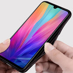 Load image into Gallery viewer, Bakeey Luxury Fabric Splice Soft Silicone Edge Shockproof Protective Case For Xiaomi Mi9 Mi 9 / Xiaomi Mi9 Mi 9 Transparent Edition