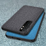 Load image into Gallery viewer, Bakeey for Xiaomi Mi Note 10 Lite Case Luxury Breathable Canvas Sweatproof Shockproof TPU Protective Case