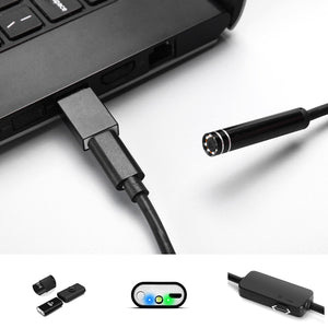 1200P 8LED IP68 WiFi Endoscope Borescope Inspection Camera Soft Cable for Android IOS 2/3.5/5/7/10M