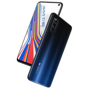 vivo iQOO Z1 5G CN Version 6.57 inch FHD+ 144Hz Refresh Rate NFC Android 10 4500mAh 48MP AI Triple Rear Camera 8GB 256GB Dimensity 1000+ Smartphone