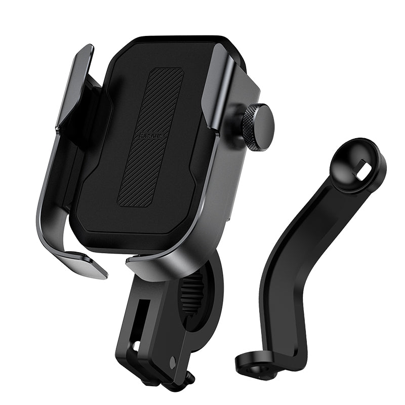 Baseus Universal Bike Motorbike Electric Vehicles Handlebar Phone Holder 360º Rotation for 4.7-6.5 Inch Smart Phone
