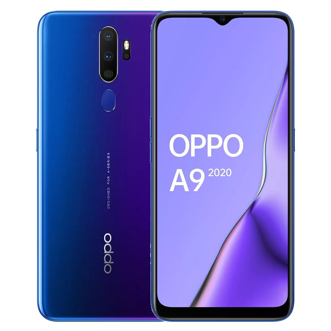 OPPO A9 2020 Global Version 6.5 inch HD+ 5000mAh Android 9.0 48MP Quad Rear Cameras 8GB 128GB Snapdragon 665 Octa Core 4G Smartphone