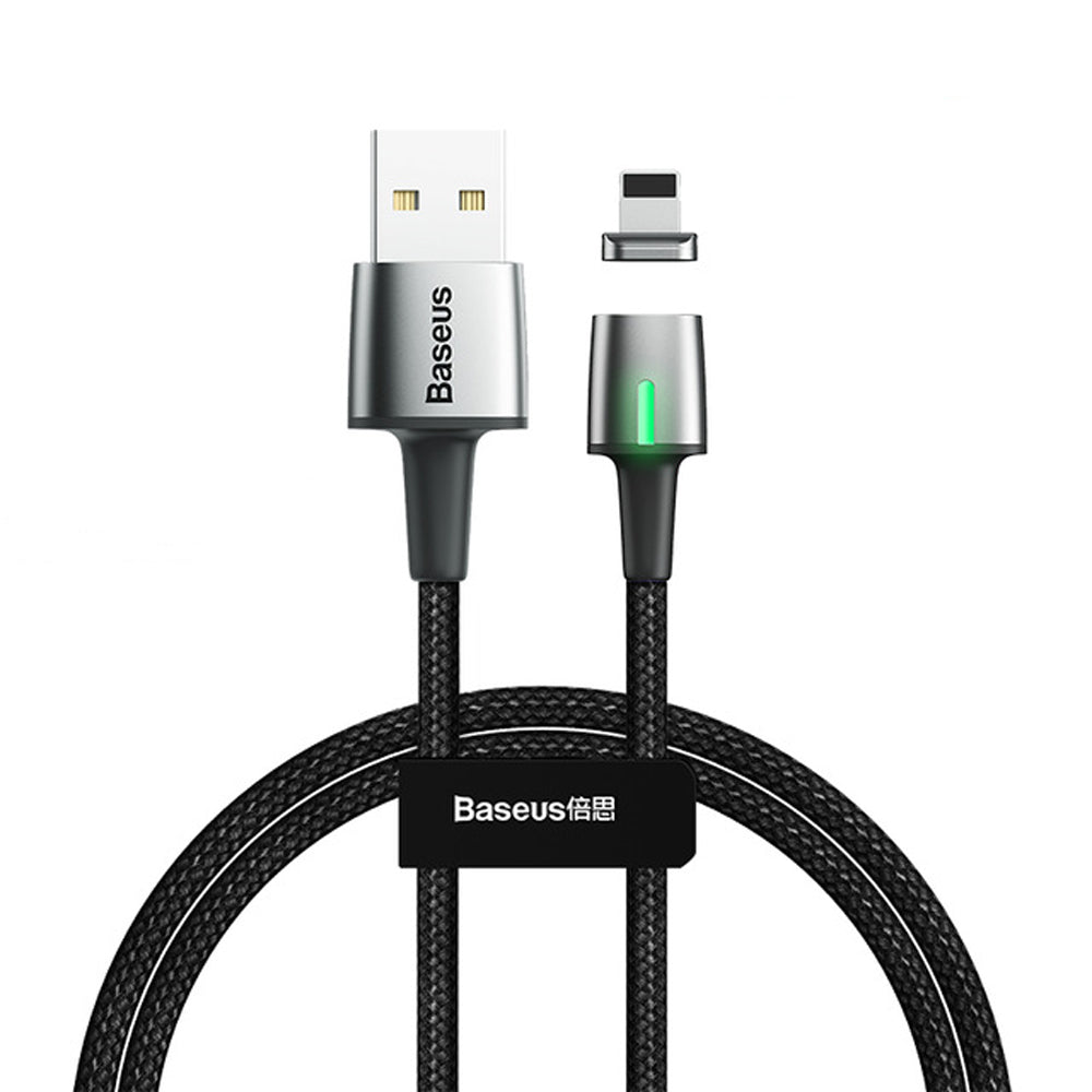 Baseus 3A Micro USB Type C LED Indicator Fast Charging Magnetic Data Cable For iPhone XS 11 Pro Huawei P30 Pro Mate 30 5G Xiaomi Mi9 9Pro Redmi 6 Pro 7A Note 5Pro S10+ Note10 5G
