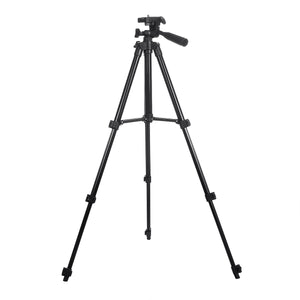 INSMA 4 Sections Tripod Camera Stand Phone Holder Stand With Phone Clip 360 Degree Rotation For Camera Smart Phone