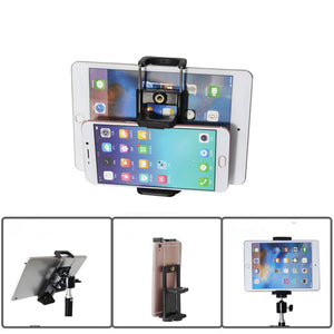 Bakeey Universal Mobile Phone Tripod Mount Clip Bracket Holder For Tripod Selfie Stick
