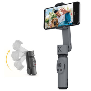 Zhiyun Smooth-X Foldable Smartphone Gimbal Stabilizer bluetooth 5.0 Multi-angle Monopod Handheld Selfie Stick for iPhone 11 Pro Max