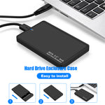 Load image into Gallery viewer, External Portable 2TB USB 3.0 Hard Drive Ultra Slim SATA Storage Devices Case