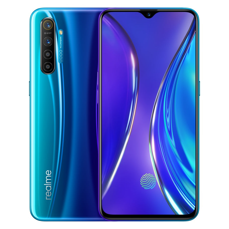 Realme XT Global Version 6.4 inch FHD+ Super AMOLED Display 4000mAh 64MP AI Quad Rear Cameras 6GB RAM 64GB ROM Snapdragon 712 AIE Octa Core 2.3GHz 4G Smartphone