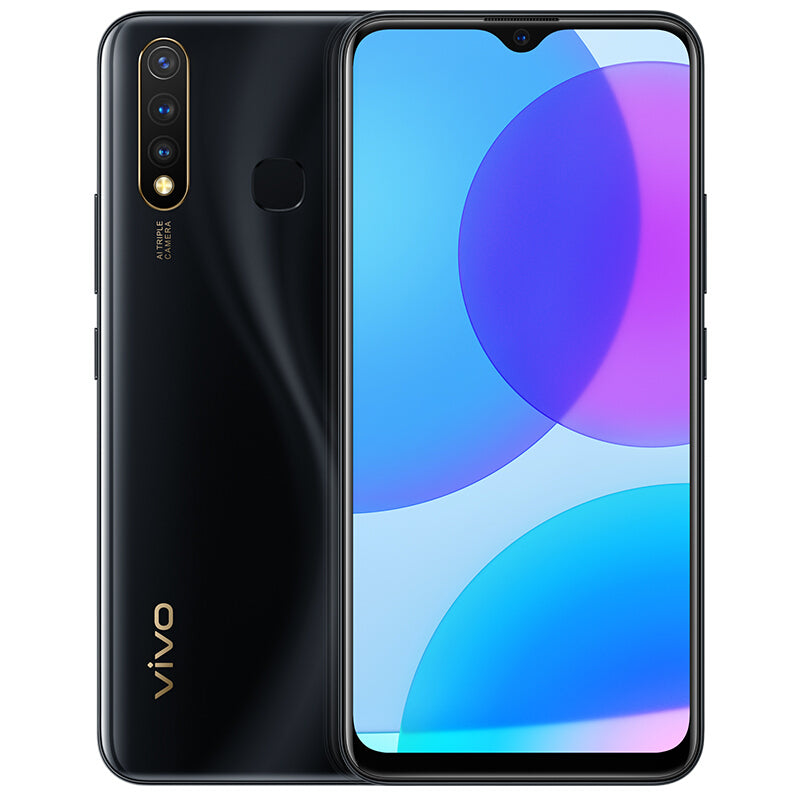 Vivo U3 CN Version 6.53 inch FHD+ 5000mAh Android 9.0 16MP Triple Rear Cameras 6GB RAM 64GB ROM Snapdragon 675 Octa Core 4G Smartphone