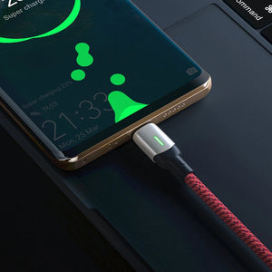 BlitzWolf® BW-PL3 36W QC3.0 Dual Ports USB Charger EU Adapter with BW-TC21 6.6ft 3A LED Indicator USB Type-C Fast Charging Data Cable for S20 S20+ Xiaomi Mi10 Huawei P30 P40 Pro