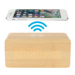 Load image into Gallery viewer, Bakeey 3 in 1 Qi Wireless Charger & LED Digital Alarm Clock & Thermometer Modern Wooden