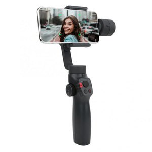 FUNSNAP Capture2 3-Axis Handheld Anti-shake Gimbal Stabilizer For Samsung for iphone X XR 8 7 for Gopro Camera (Black)