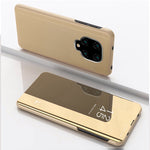 Load image into Gallery viewer, Bakeey for Xiaomi Redmi Note 9 Case Plating Mirror Window Shockproof Flip Full Cover Protective Case