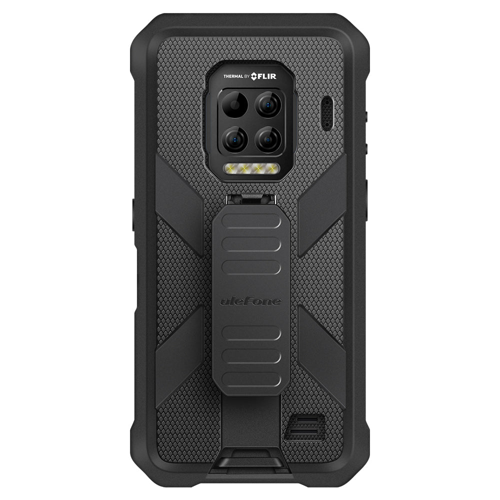 Ulefone Multifunctional Amor Shockproof Anti-Slip with Anti-Lost Hook TPU + PC Protective Case Back Cover for Ulefone Armor 9