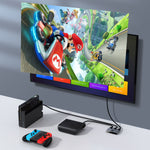 Load image into Gallery viewer, Baseus 4K HDMI Splitter Two-way Switch Digital Light Display 1-in-2 or 2-in-1 Dual Modes Audio Video Switching HDMI Splitter Adapter