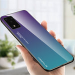 Load image into Gallery viewer, For Samsung Galaxy S20+ / Galaxy S20 Plus Bakeey Gradient Color Tempered Glass Shockproof Scratch Resistant Protective Case