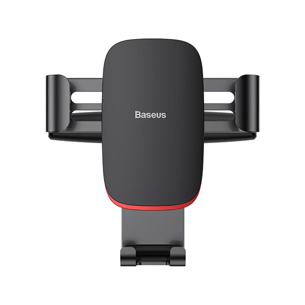 Baseus Metal Gravity Linkage Auto Lock CD Slot Car Mount Holder Stand for Xiaomi Mobile Phone 4.0-6.0""