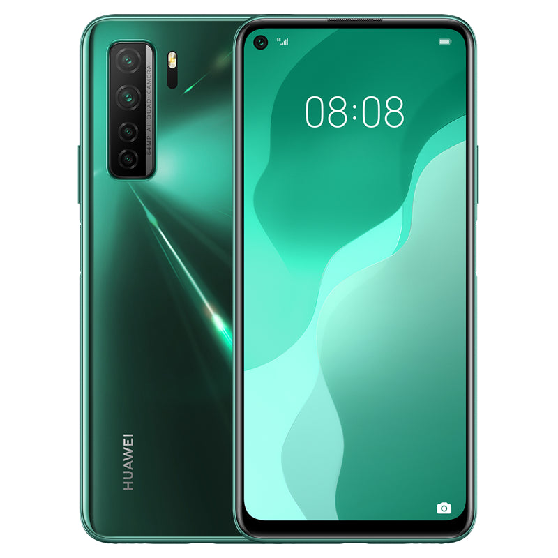 HUAWEI Nova 7 SE CN Version 6.5 inch 64MP Quad Rear Camera 8GB RAM 128GB ROM Kirin 820 Octa Core 5G Smartphone