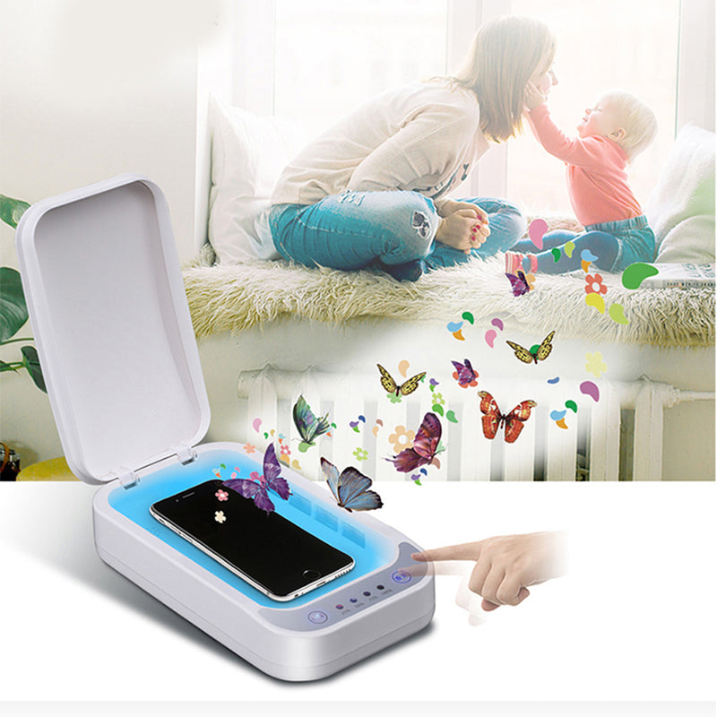 Bakeey Multifunction UV Sterilizer Box Light Travel Disinfection Box For Phone Face Mask Watch Disinfection