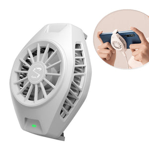 Original Xiaomi Cool Cooling Fan Back Clip Type-C Bass Operation Mini Radiating Device For Xiaomi 10 Pro for iPhone Huawei Sumsung Mobile Phone