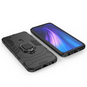 Bakeey Armor Magnetic Card Holder Shockproof Protective Case For Xiaomi Redmi Note 8
