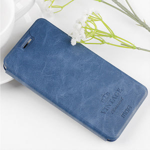 For Xiaomi Redmi Note 8 Case MOFI Luxury Shockproof Flip with Stand Card Slot Full Body PU Leather Protective Case