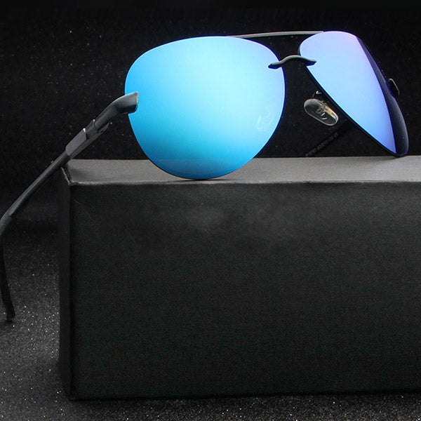 Summer Retro UV400 Polarized Sunglasses Driving Goggles