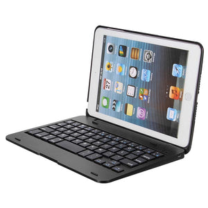 2 In 1 bluetooth Keyboard Foldable Kickstand Case For iPad Mini 1 2 3