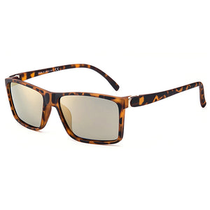 Men Women Summer Square Retro UV400 Polarized Sunglasses