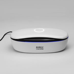 SUNUV One-touch LED UVC Mobile Phone Sterilizer with Voice Indicate for Mask Toothbrush Beauty Underwear Storage Sterilization Disinfection Box