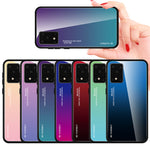 Load image into Gallery viewer, For Samsung Galaxy S20 Ultra Bakeey Gradient Color Tempered Glass Shockproof Scratch Resistant Protective Case