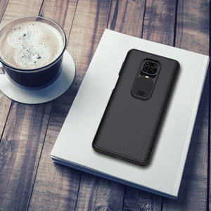 NILLKIN for Xiaomi Redmi Note 9S Case Shockproof Non-slip Slide Camera Cover Protective Case Redmi Note 9 Pro / Redmi Note 9 Pro Max