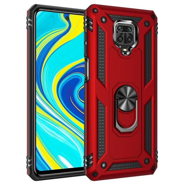 Bakeey Xiaomi Redmi Note 9S Case Armor Shockproof With Stand Ring Protective Cover For Xiaomi Redmi Note 9 Pro / Xiaomi Redmi Note 9 Pro Max