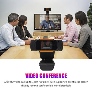 1080P Upgrade Webcam Auto Focusing Web Camera Cam with Microphone For PC Laptop