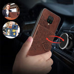 Load image into Gallery viewer, Bakeey for Xiaomi Redmi Note 9S / Redmi Note 9 Pro / Redmi Note 9 Pro Max Case Magnetic PU + TPU with Phone Wallet Card Slot Photo Frame Shockproof Protective Case
