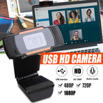 Load image into Gallery viewer, 1080P Upgrade Webcam Auto Focusing Web Camera Cam with Microphone For PC Laptop