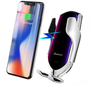 Bakeey 10w Qi Wireless Charger Fast Charging Induction Clamp Air Vent Car Mount Car Phone Holder For 4.0-6.5 Inch Smart Phone for iPhone 11 for Samsung Note 10