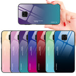 Load image into Gallery viewer, Bakeey for Xiaomi Redmi Note 9S / Redmi Note 9 Pro / Redmi Note 9 Pro Max Case Gradient Color Tempered Glass Shockproof Scratch Resistant Protective Case