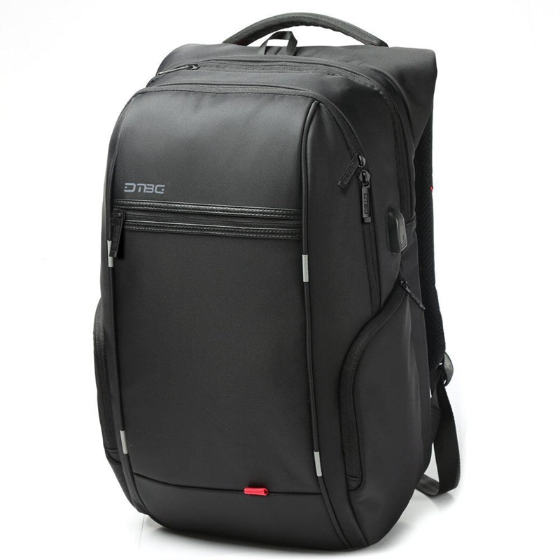 "15.6""/17.3"" Laptop Backpack Bag Travel Bag With External USB Charging Port"