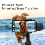 Load image into Gallery viewer, FUNSNAP Capture2 3-Axis Handheld Anti-shake Gimbal Stabilizer For Samsung for iphone X XR 8 7 for Gopro Camera