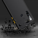 Load image into Gallery viewer, For Xiaomi Redmi Note 8 Case Bakeey Armor Shockproof Anti-fingerprint Matte Translucent Hard PC&Soft TPU Edge Protective Case