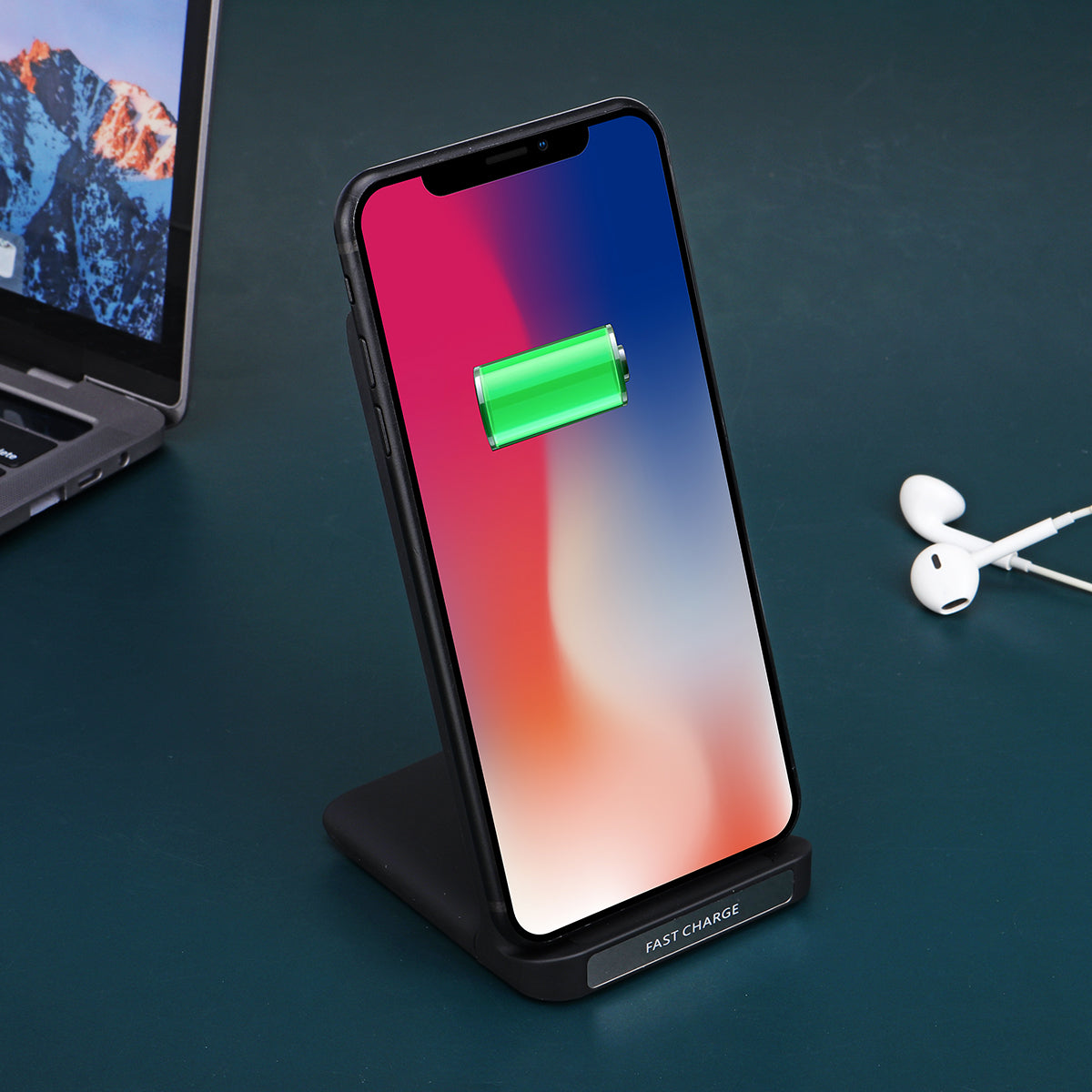 30W Qi Wireless Charger Fast Charging Phone Holder Stand For Qi-enabled Smart Phone For iPhone 11 Pro Max For Samsung Galaxy 20 Xiaomi