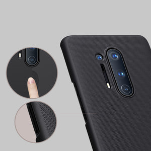 Nillkin Frosted Anti-Fingerprint Anti-Scratch Shockproof PC Hard Protective Case Back Cover for OnePlus 8 Pro