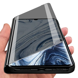Bakeey Plating Mirror Window Shockproof Flip Full Cover Protective Case for Xiaomi Mi Note 10 / Xiaomi Mi Note 10 Pro